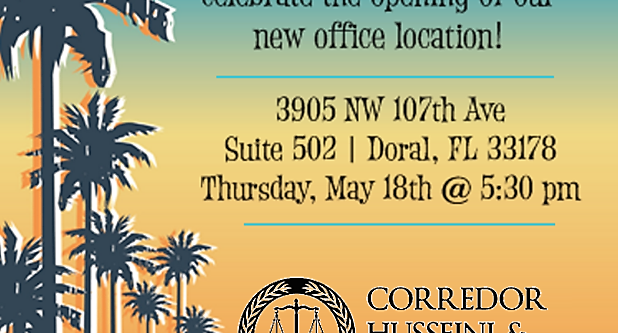 Attorney Marketing Annex introduces Corredor Husseini.