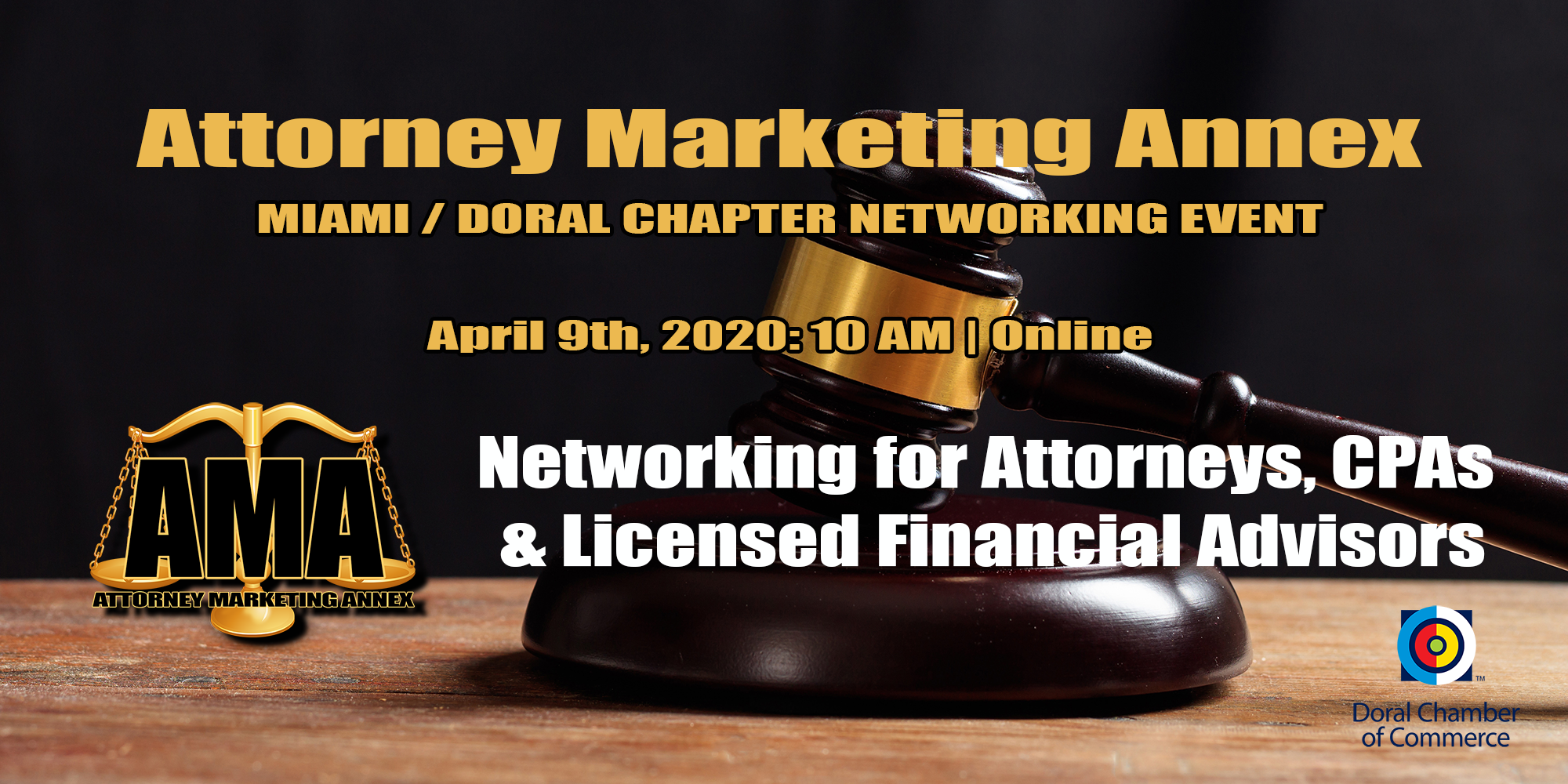 Attorney Marketing Annex™ Speed Networking Presented by the Coffee Network Club™ Attorneys, meet up to 20 Attorneys and CPAs
